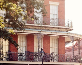 new orleans photography, pontalba building, french quarter architecture art, jackson square, balcony art, new orleans art