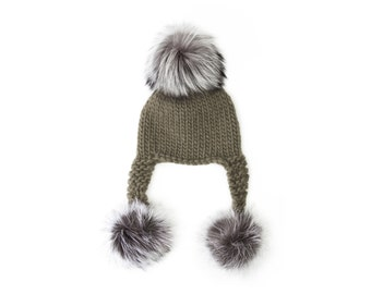 Swiss Miss Trapper Hat