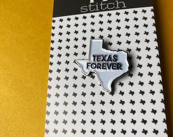 "Texas Forever Enamel Pin - 1"" soft enamel - Friday Night Lights"