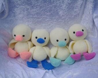 Cute little ducklings
