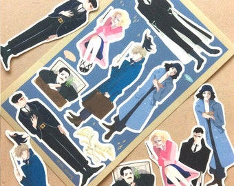 Fantastic beasts stickers