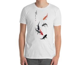Asían original design shirt  fish Short-Sleeve Unisex T-Shirt