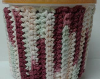 Red, Pink & Green Variegated Ice Cream Sweater