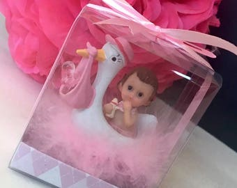 Stork Baby Shower Party Favors Give Aways Keepsakes Figurines