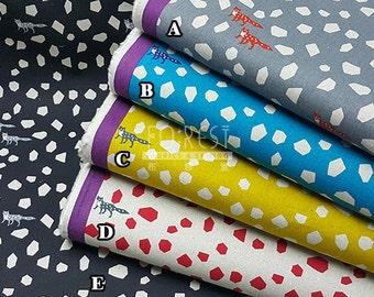 Echino 2017SS Fox Stone cotton linen Japanese Fabric - 50cm
