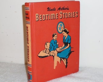 Maxwell 1951 Red HC Uncle Arthur's Bedtime Stories Volume 5