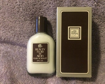 Vintage Beauty Fluid By Avon 3 oz New in Box Rare 1980