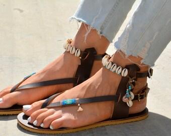 Sandals, Leather Sandals, Greek Sandals, Gladiator Sandals, Strappy Sandals, Summer Sandals, Festival Sandals, Leather Shoes, Women Sandals