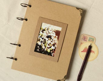 56 Pages photo album,Scrapbook book,sketch book,Hand-painted book,Notepad