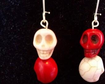Fun Skull Earrings