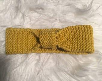 Wool kids headband.
