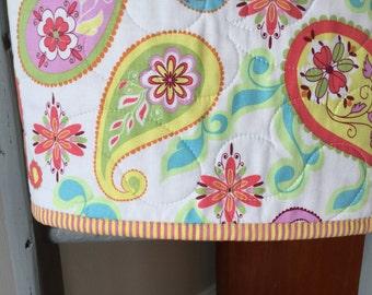 Handmade Quilt Cot Quilt Baby Girl Quilt