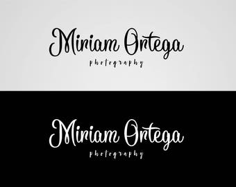 Premade logo. Photography logo. Watermark. Watermark photography