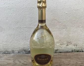 EMPTY Display 0.75L Sealed Dummy Champagne Bottle RUINART 2203186