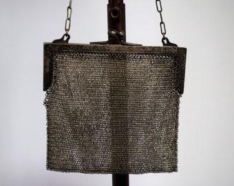 Antique Mesh Metalwork Purse