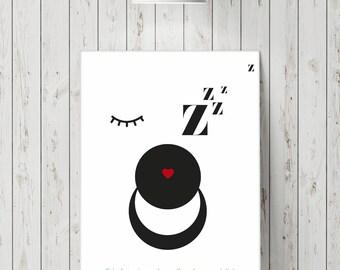 "Poster ""Dream"" theme"