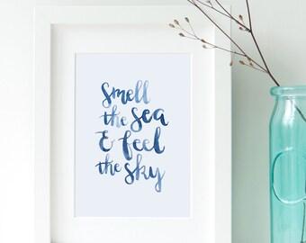 Van Morrison Lyrics Wall Decor / Bedroom Printable Wall Art / Instant Download Inspirational Quote / Song Lyrics Quote / Wall Art Home Decor