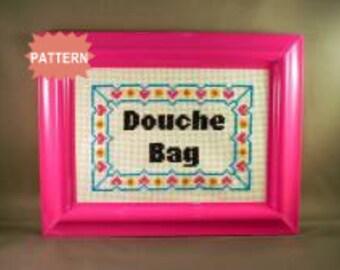 PDF/JPEG Douche Bag (Pattern)