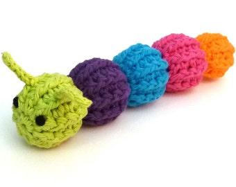 Catnip Caterpillar Cat Toy
