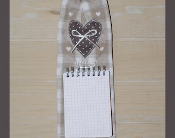 For the shopping list Notepad