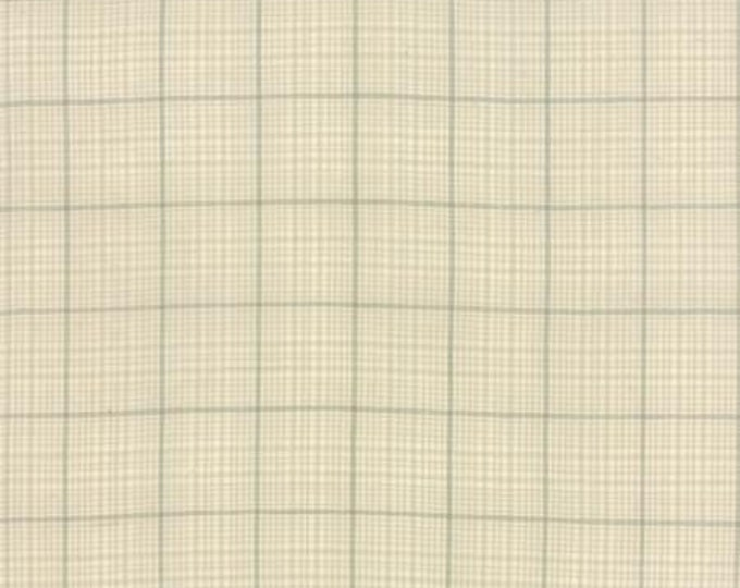Petite Woven Silky Cotton Windowpane Linen - 1/2yd