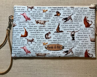 Canvas and Cork Essential Oil Bag