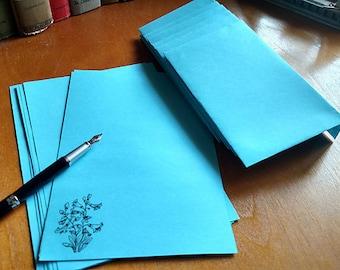 Stationery Letter Set Bluebell 20 sheets and 10 Envelopes