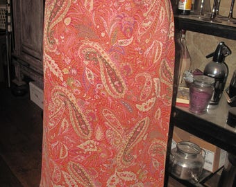 Laura Ashley paisley A line skirt, size 14