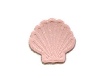Embossed Sea Shell Paper Die Cut set of 30