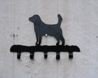 Leash / Key Rack Beagle