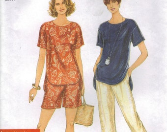 Simplicity Sewing Pattern 9032 - Misses' Pants, Shorts, and Top (XS-XL)