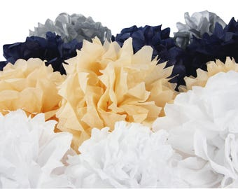 Set 8 sheets of white tissue paper 0.75 x 0.50 m - Ref 95401C - until the stock!