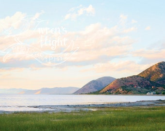 Bear Lake Hills at Sunset - Digital Download - Cheerful and Bright Fine Art Photography