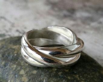 Cartier trinity ring Etsy