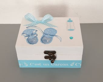 Secret box, box remember your baby's first tooth, exct birthstone bracelet...