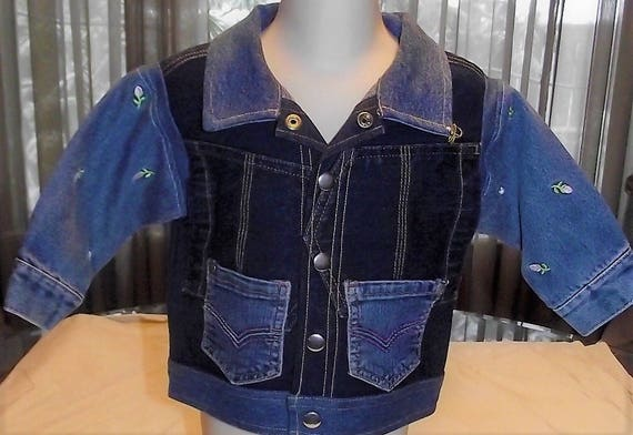 Refurbished Girls Denim Jacket. Size 2T