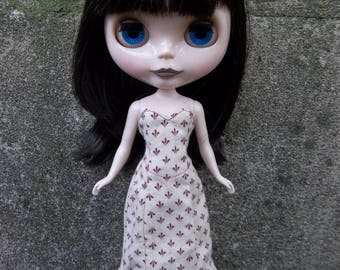 """Pattern PDF - Corset Dress, Fits 12"""" Blythe, Icy, Jecci Five, and Makie Dolls - permission to sell finished items"""