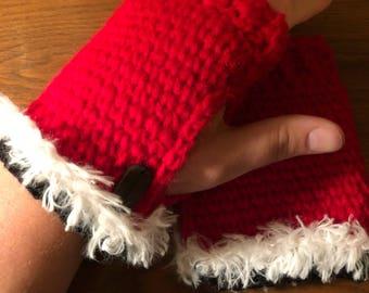 Santa hand warmers