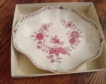 New Hutschenreuther Bowl 25 x 20 cm with original box