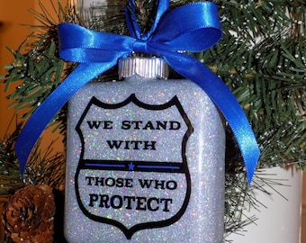 Support Law Enforcement Ornament