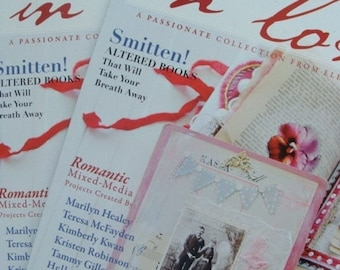 ONSALE Amazing Inspiration Stampington Somerset Life , Vintage Valentines In Love