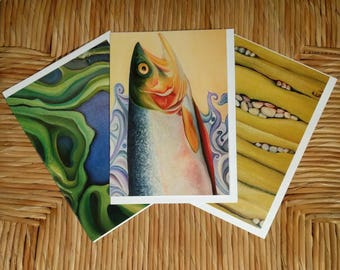 Choice of 3 art cards, Digital art cards, InnerSunCreations