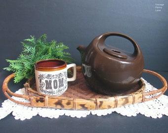 Vintage Ceramic Teapot and Tea Cup / Coffee Mug for MOM