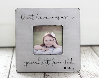 Great Grandma Gift for Mother's Day GIFT for Great Grandma Grandmother Personalized Quote Great Grandma Picture Frame GIFT