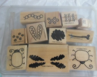 Stampin Up Bug Builders Stamp Set