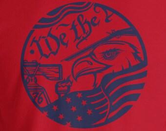 1776 Eagle T-Shirt (Blue Print)