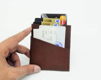 Credit Card Holder, Credit Card Wallet, Leather Card Case. Business Card Holder, Leather ID Holder, Minimalist Wallet by Barismil.