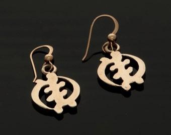 African Earrings (Gye Nyame)