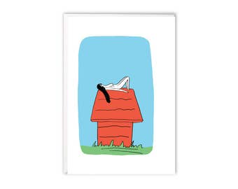 Greeting Card - Snoopy