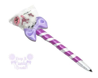 Lamb Lollipop Pen, Religious Lamb Candy Pen, Baptism Favor, Christening Candy, First Communion Candy Favor, Lollipop Favor Religious Party